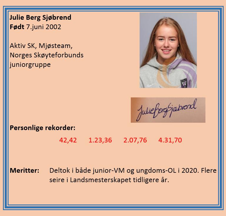 Julie Berg Sjøbrend